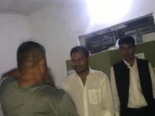 प्रमुख प्रशासकीय अधिकृत ज्यु तथा पालिका प्रमुख ज्यु द्वारा राकेश कुमार राउत लाई बिदाई गरिदै